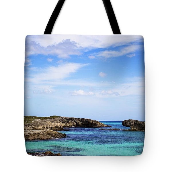 Cozumel Mexico Tote Bag by Marlo Horne