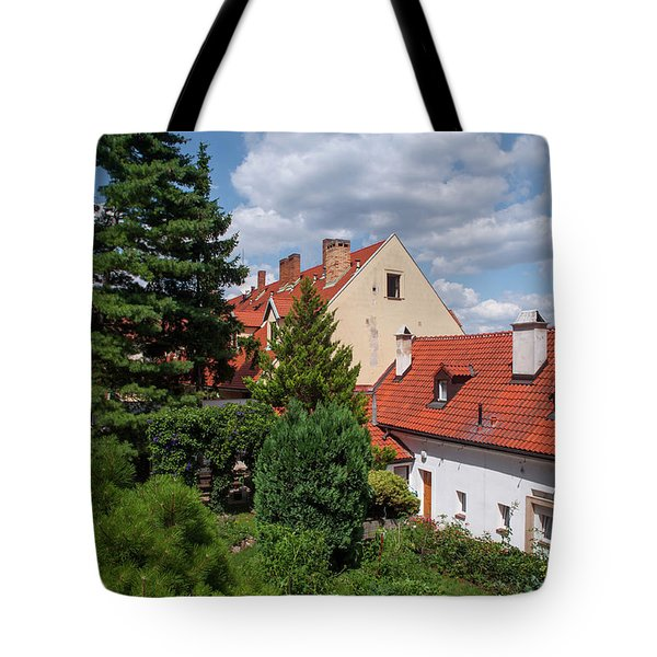 Tote Bag featuring the photograph Cozy Prague by Jenny Rainbow