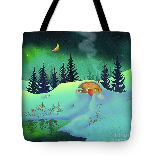 Cozy Quonset Tote Bag