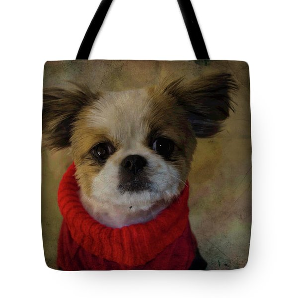 Cozy Sadie Tote Bag by Al Bourassa