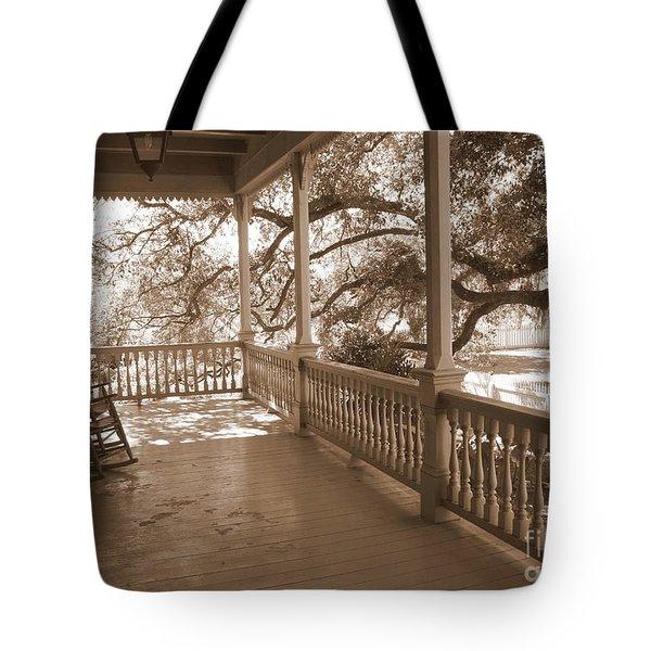 Cozy Southern Porch Tote Bag