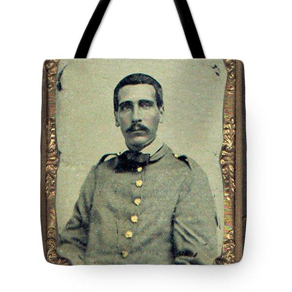 Cprl. Thomas G. West, Csa Tote Bag