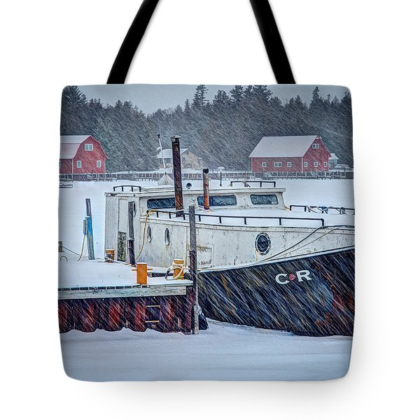 Cr Tug Tote Bag