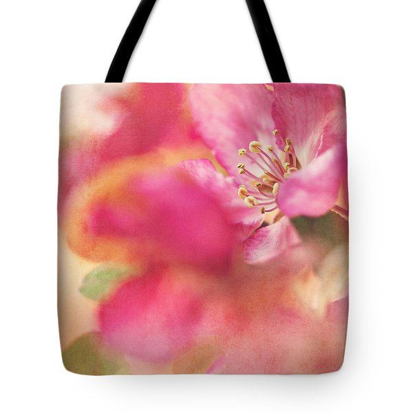 Crab Apple Blossoms II Tote Bag