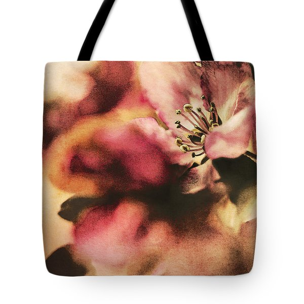 Crab Apple Blossoms IIi Tote Bag