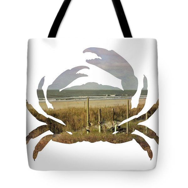 Crab Beach Tote Bag