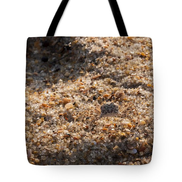 Crab Camoflage Tote Bag