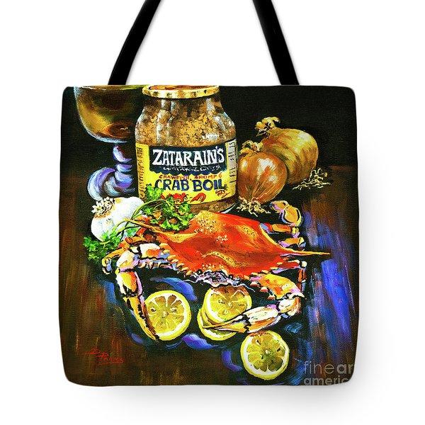 Crab Fixin's Tote Bag