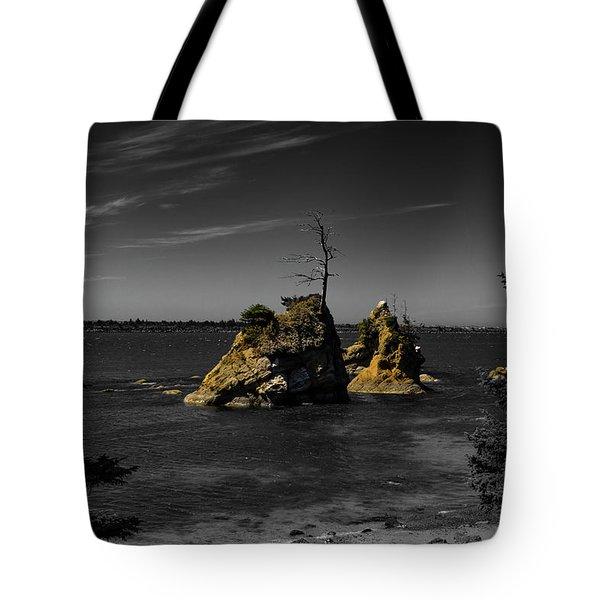 Crab Rock Tote Bag