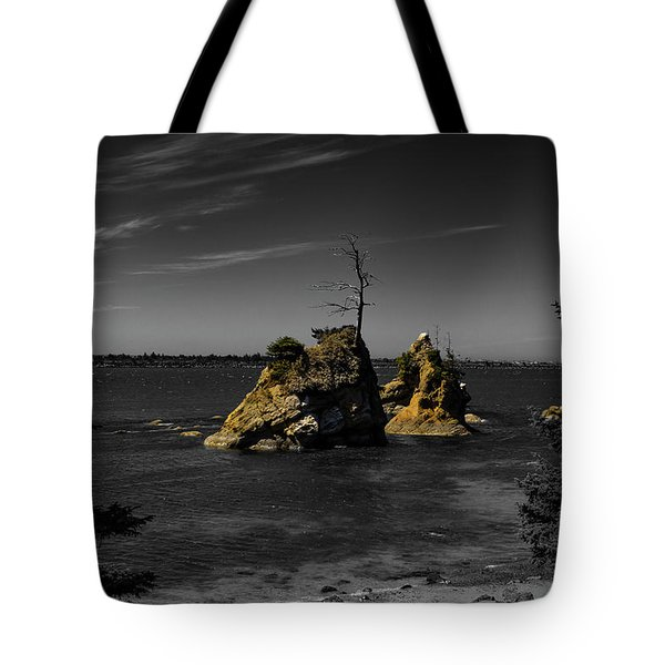 Crab Rock Tote Bag