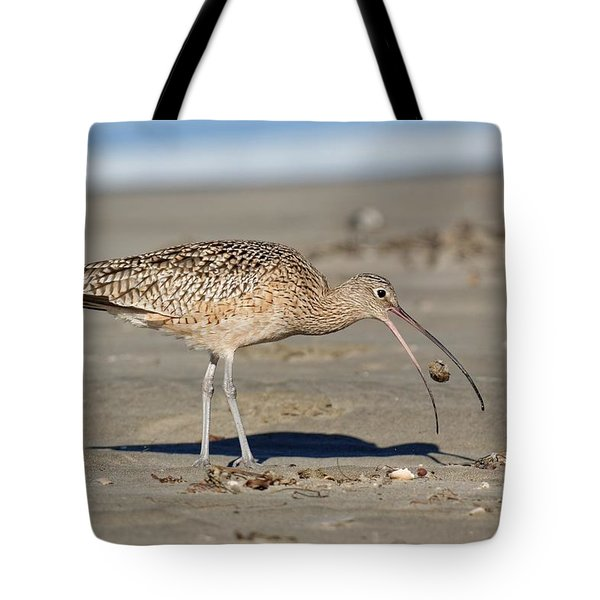 Crab Toss - Curlew Tote Bag