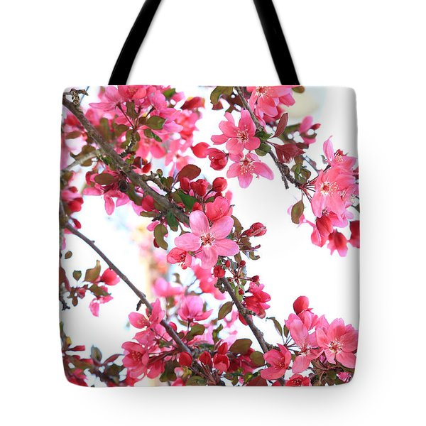Crabapple Beauty Tote Bag