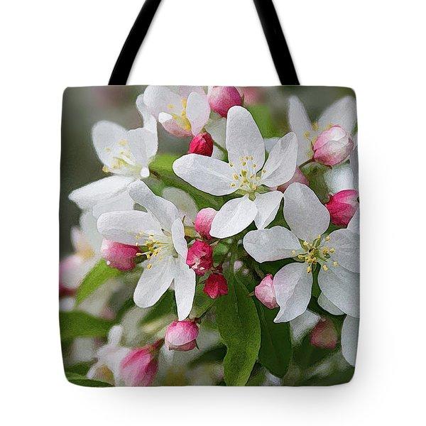 Crabapple Blossoms 12 - Tote Bag