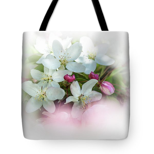 Crabapple Blossoms 3 - Tote Bag
