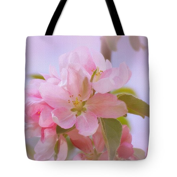 Crabapple Pink Tote Bag by MTBobbins Photography