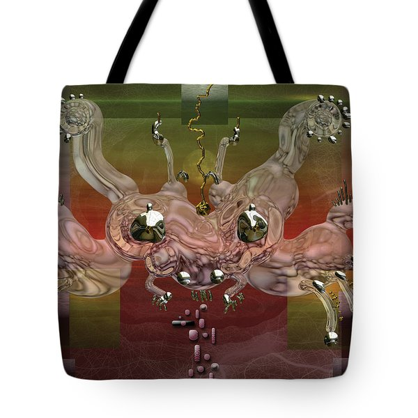 Crabba Tote Bag by Marko Mitic