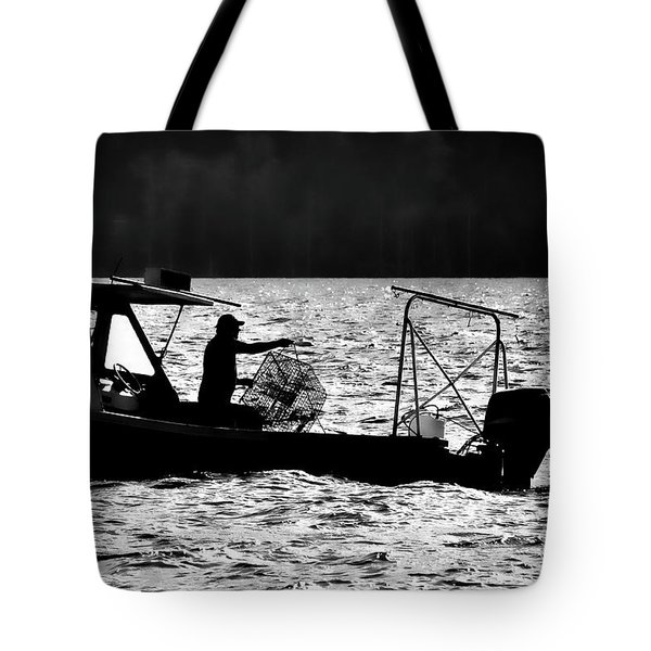 Crabbing On The Pamlico Tote Bag