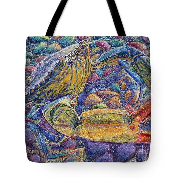 Crabby Tote Bag