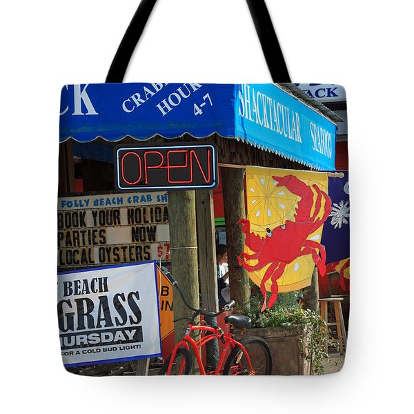 Crabby Hour 4-7 Tote Bag