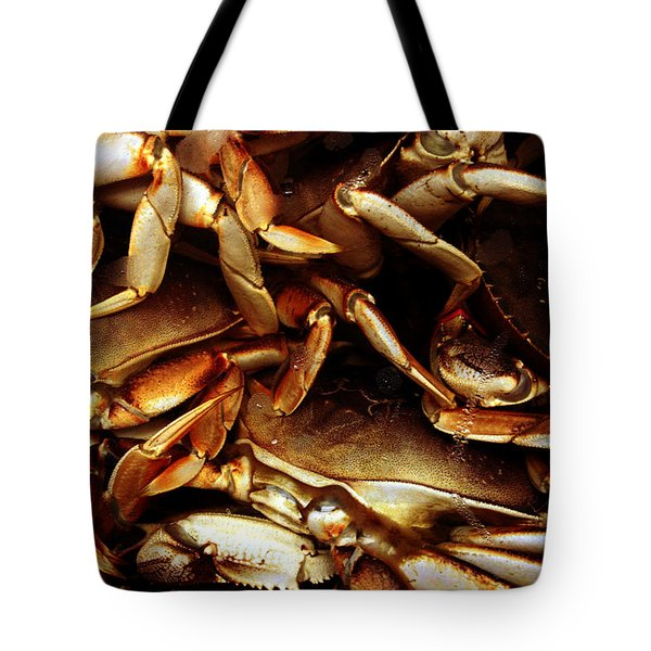 Crabs Awaiting Their Fate Tote Bag