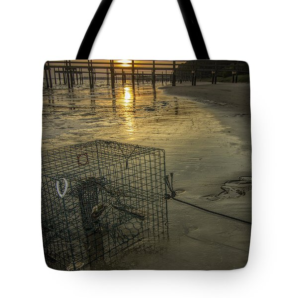 Crabtrap At Dusk Tote Bag