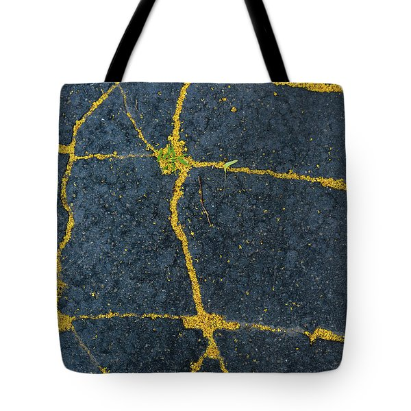 Cracked #1 Tote Bag
