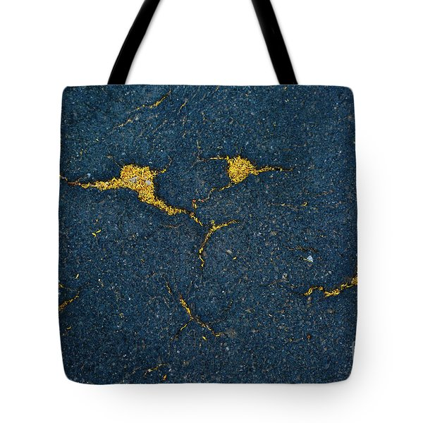 Cracked #10 Tote Bag