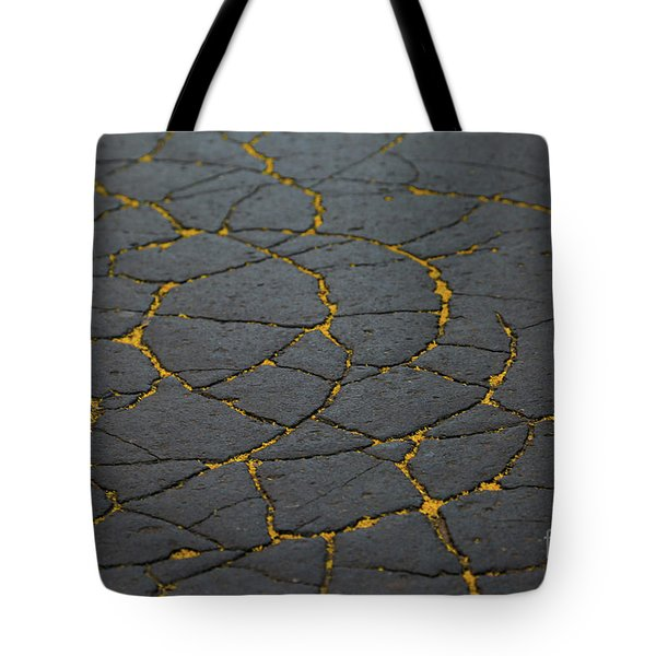 Cracked #11 Tote Bag