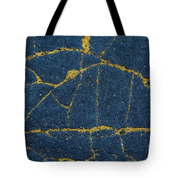 Cracked #5 Tote Bag