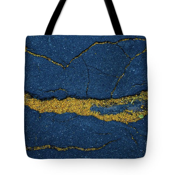 Cracked #6 Tote Bag