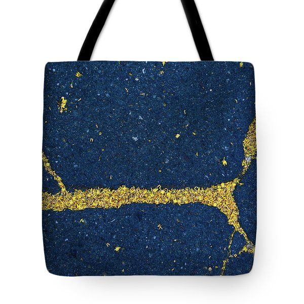 Cracked #7 Tote Bag