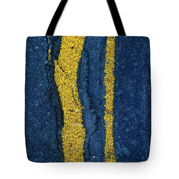 Cracked #9 Tote Bag