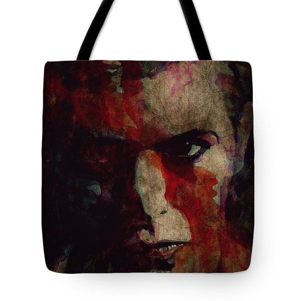 Cracked Actor Tote Bag