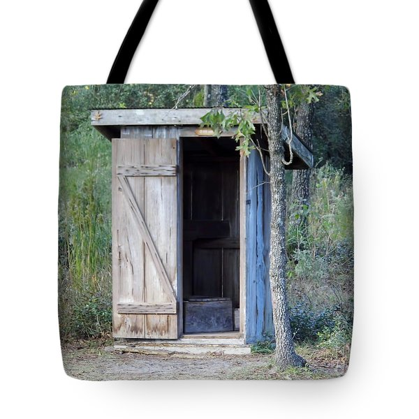 Cracker Out House Tote Bag