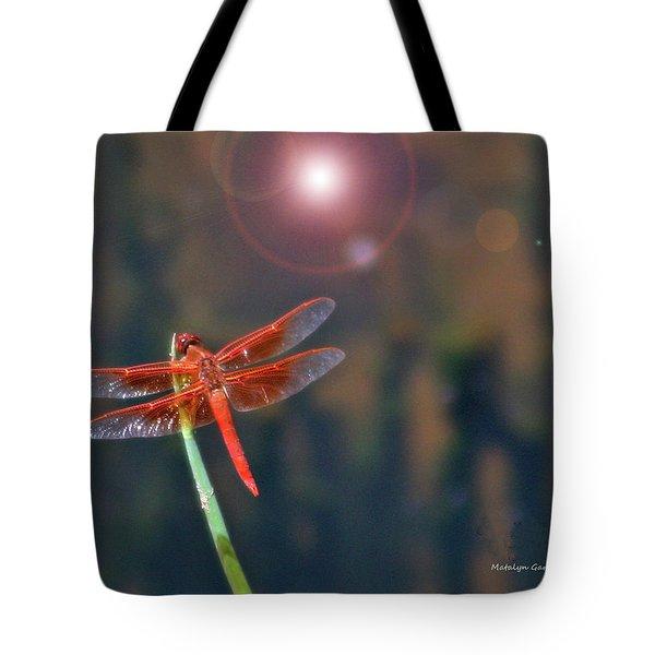 Crackerjack Dragonfly Tote Bag
