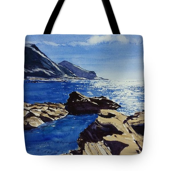 Crackington Haven Sparkle Tote Bag