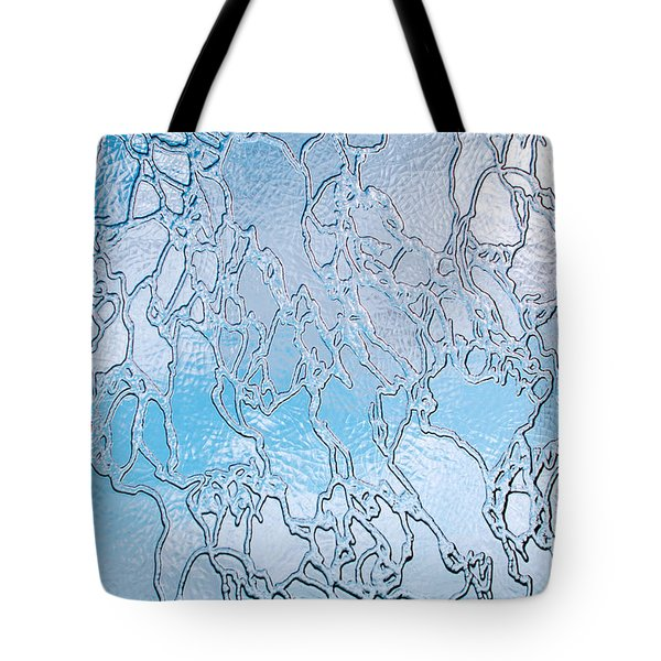 Crackle Sky Tote Bag