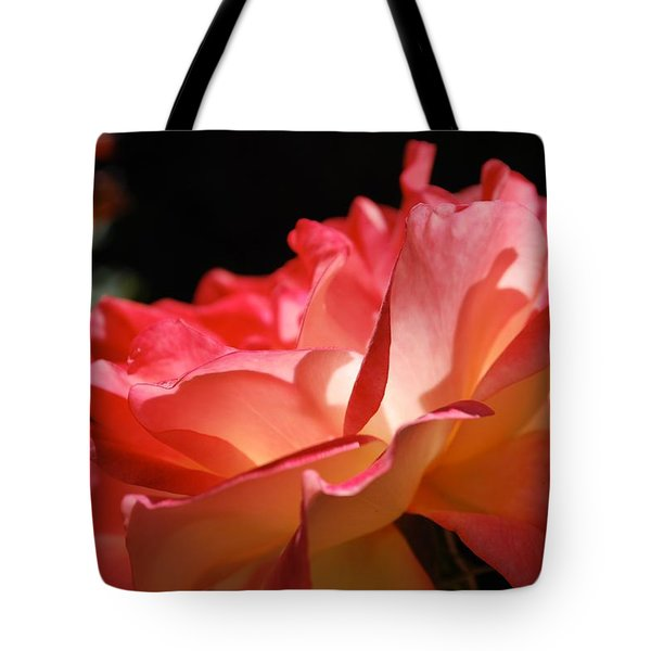Cracklin' Rose Tote Bag