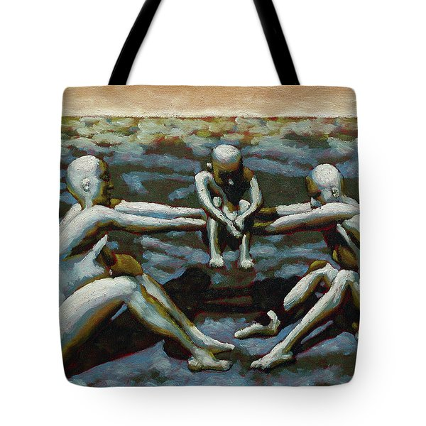 Cradle Tote Bag by Leo Mazzeo