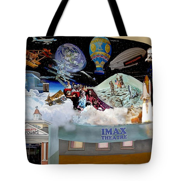 Cradle Of Aviation Museum Imax Theatre Tote Bag