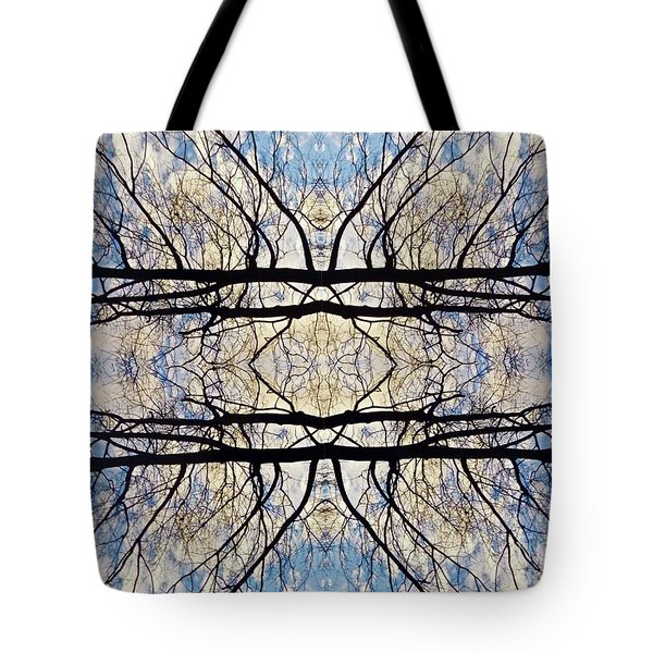 Cradling The Sky Tote Bag