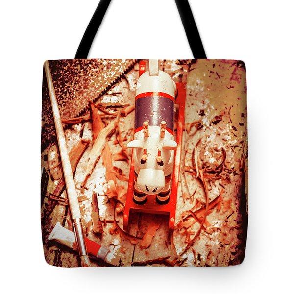 Crafting Christmas Presents Tote Bag