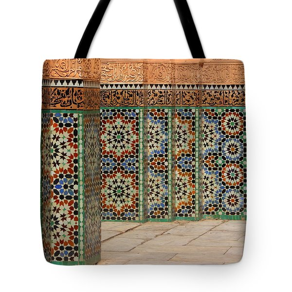 Tote Bag featuring the photograph Craftsmanship by Ramona Johnston