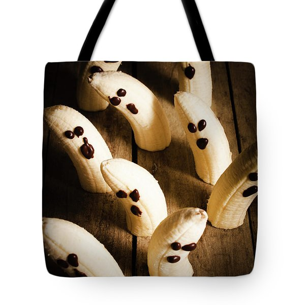 Crafty Ghost Bananas Tote Bag