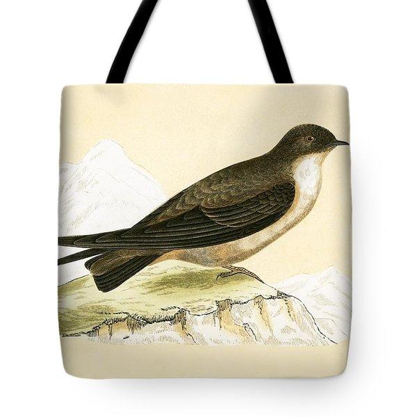 Crag Swallow Tote Bag
