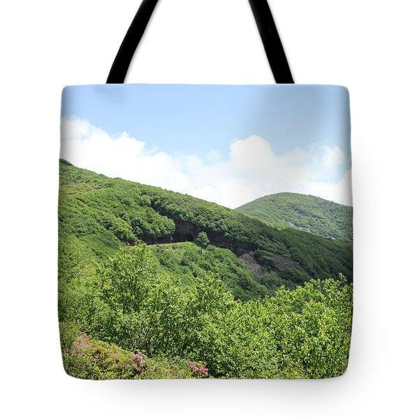 Craggy Gardens Tote Bag