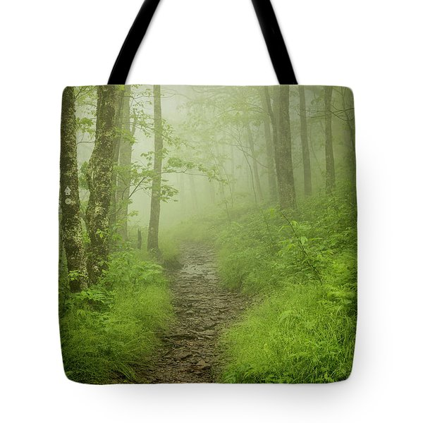 Craggy Gardens Trail Tote Bag
