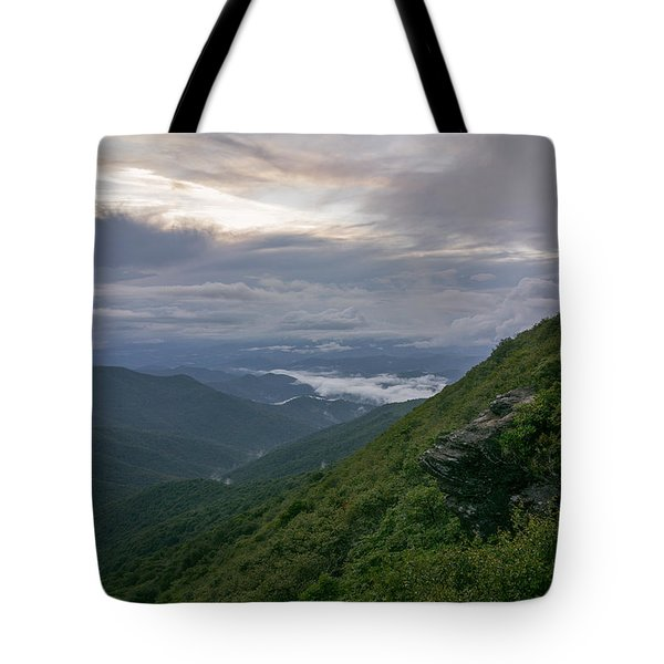 Craggy Mountain Tote Bag