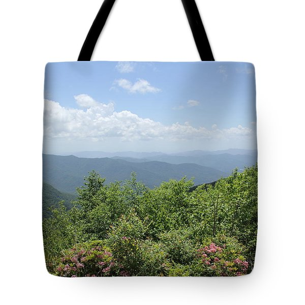 Craggy View Tote Bag
