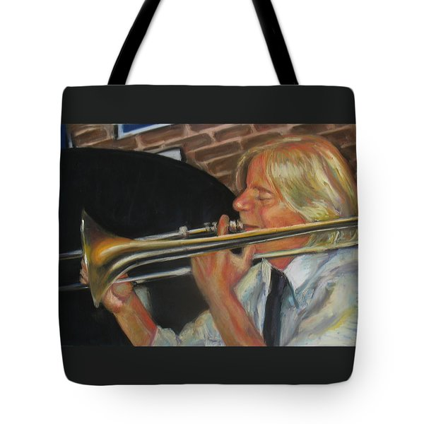 Craig At Palm Court Tote Bag